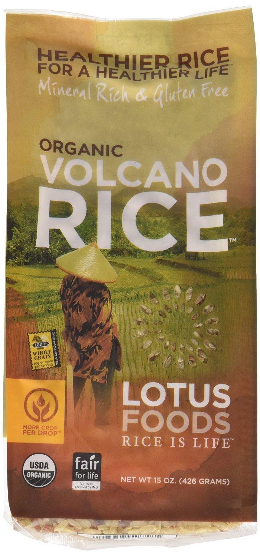 Lotus Foods Rice Volcano Brwn & Red O