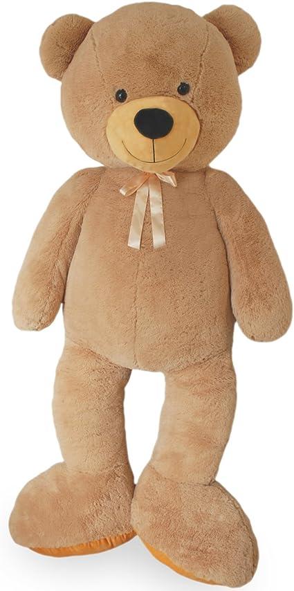 VerC Art gigante Teddy Bear Orso Peluche 100 cm grande peluche