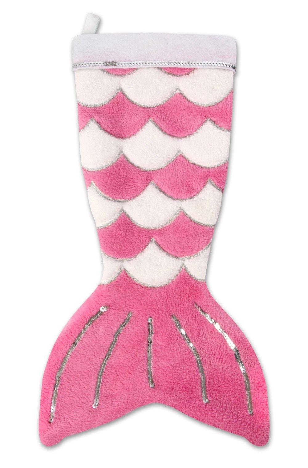 Fin Fun Mermaid Tail Christmas Stocking - Pink by Fin Fun