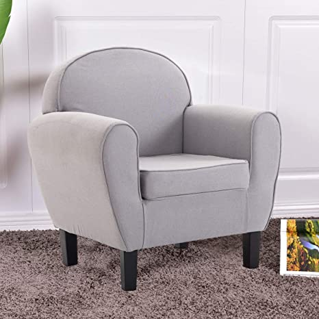 Apontus Brazo Silla Individual sofá tapizado con Tejido de ...
