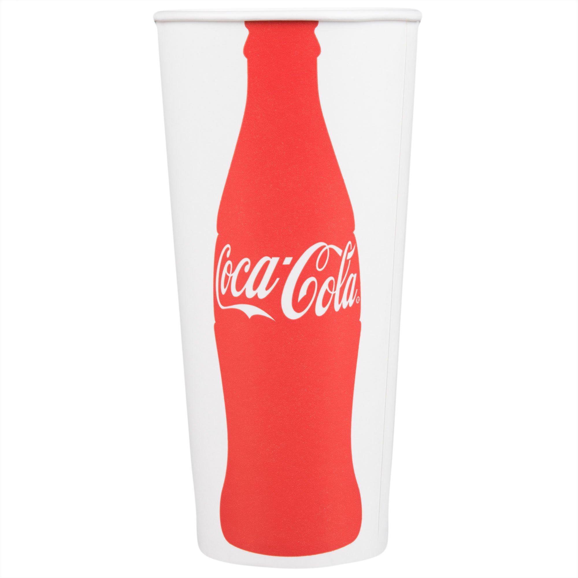 Dart Solo RP4TCB-44047 Coke® 24-26 oz. Poly Paper Cold Cup - 1000/Case