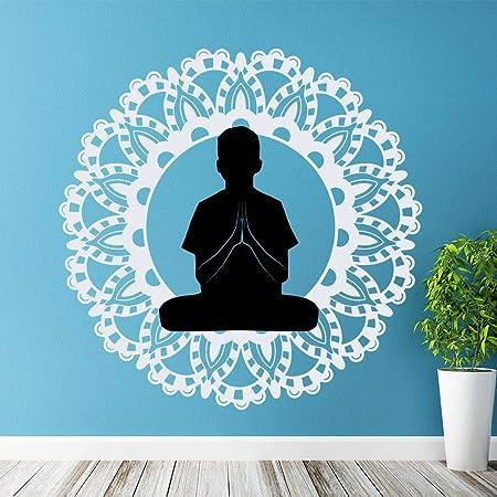 jiuyaomai Mandala Tatuajes de Pared de Yoga Buda Ganesh ...