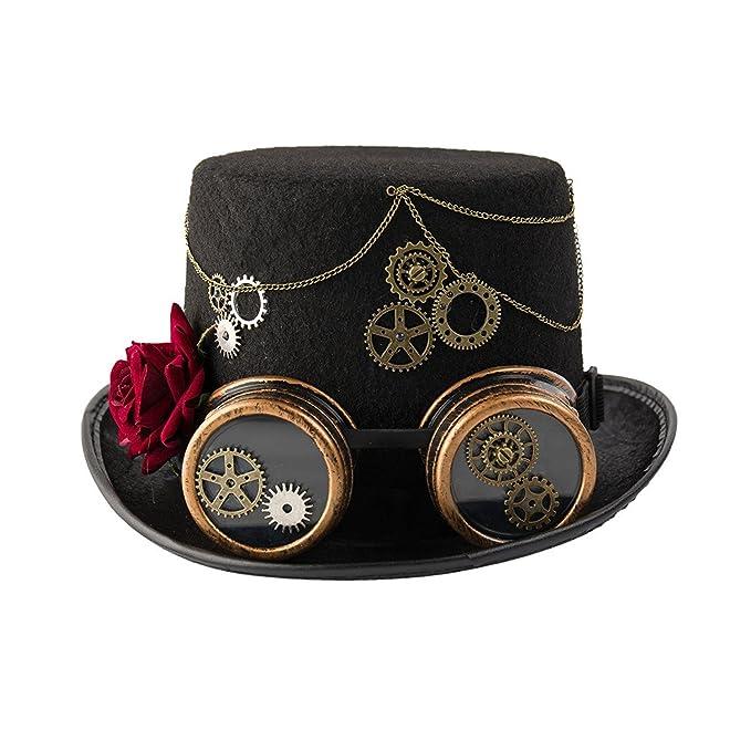 dream cosplay Cappello Steampunk Gotico Vittoriano Amazon.it Abbigliamento