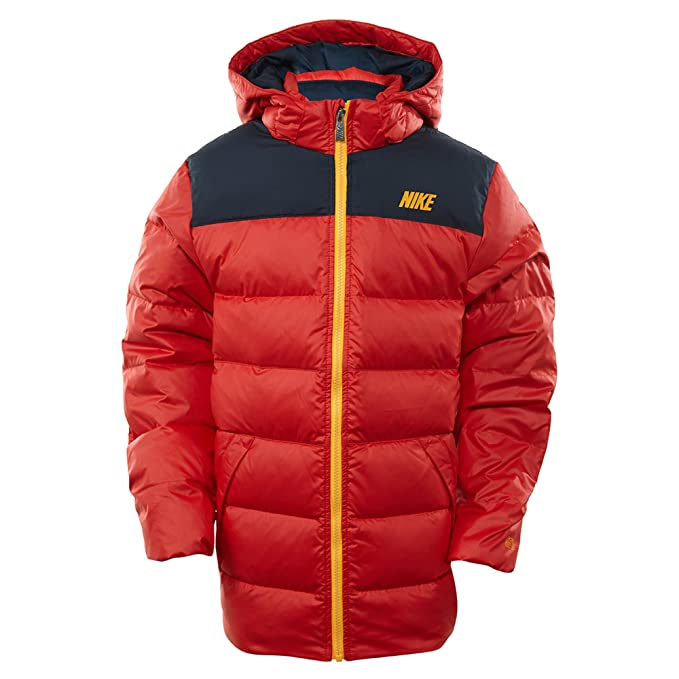 Comenzar trama cantidad de ventas  Nike Alliance 550 Down Hooded Winter Jacket Big Kids Style: 546190 ...