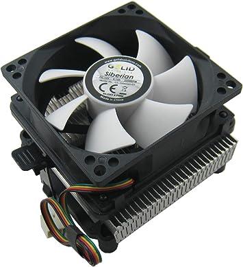 Gelid CC-SIBERIAN-01 - Ventilador de CPU (900-2200 rpm), negro ...