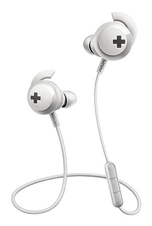 Philips SHB4305WT/00 - Auriculares (Inalámbrico, Dentro de oído, Binaural, Intraaural, 9-21000 Hz, Blanco): Amazon.es: Electrónica