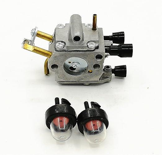 Cancanle Carburador Bomba de Bulbo de cartilla para Stihl FS400 ...