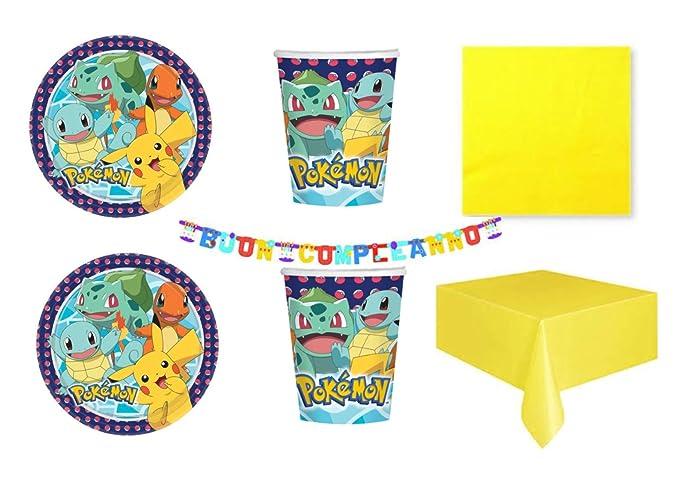 Party Store web by casa dolce casa Pokemon Pikachu - Juego de Mesa ...
