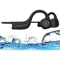 Ipx8 Mp3 Beengeleiding Hoofdtelefoon Waterdicht 16gb Onderwater 10m Snel opladen en automatische verbinding Zwemmen…
