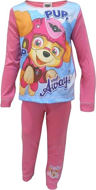 Pup /& Away Little Girls Pajama Set 2-Piece Pajamas TDP Textiles Paw Paw Patrol Pup