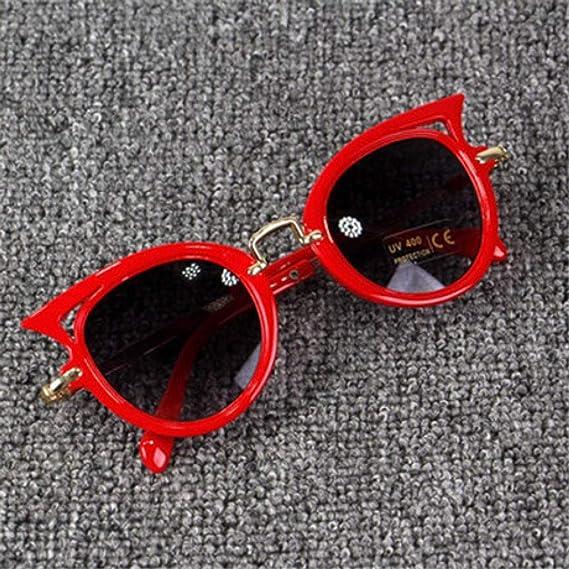 txyang Gafas de sol para niños Niñas, ojos de gato, niños ...