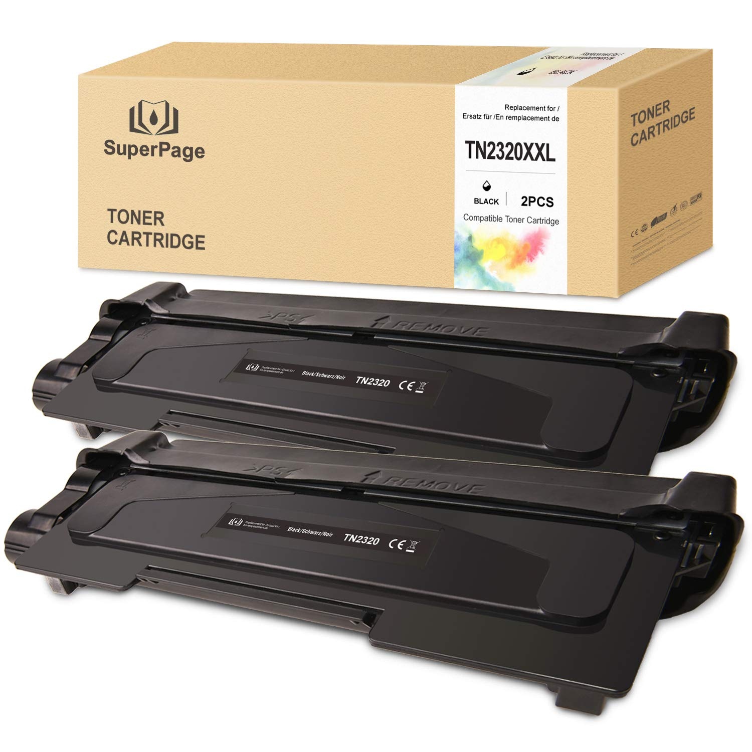Superpage TN-2320 TN2320 Cartucho de tóner Compatible para Brother ...