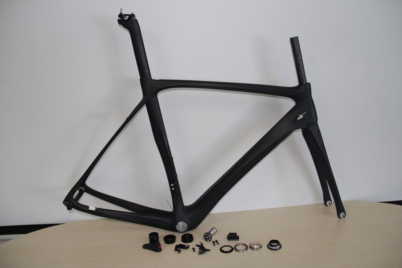 Ecom カーボンロードバイクフレームセットNEWデザイン C(DE ROSA) B0718VXFLZ 52cm|UD艶あり UD艶あり 52cm