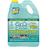 Oxy Solve Total Outdoor Pressure Washer Cleaner - Removes Stains, Mold, and Dirt on Patios, Furniture, RVs, Vehicles, Boats – 1 Gal