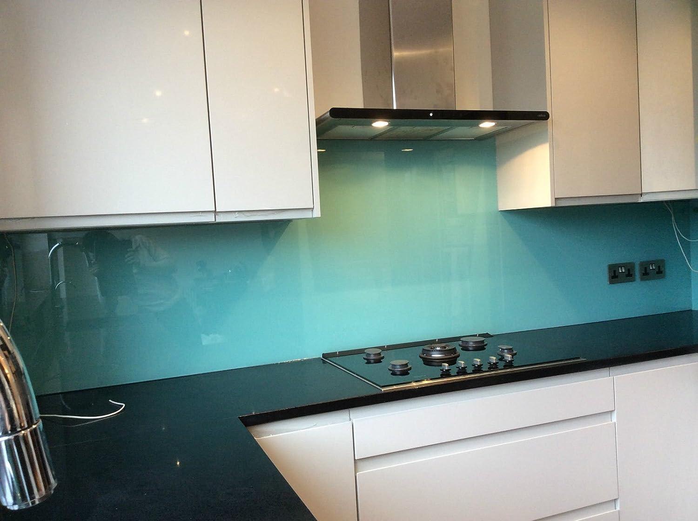Coloured Glass Kitchen Splashbacks 6mm Toughened Glass - Bespoke ...