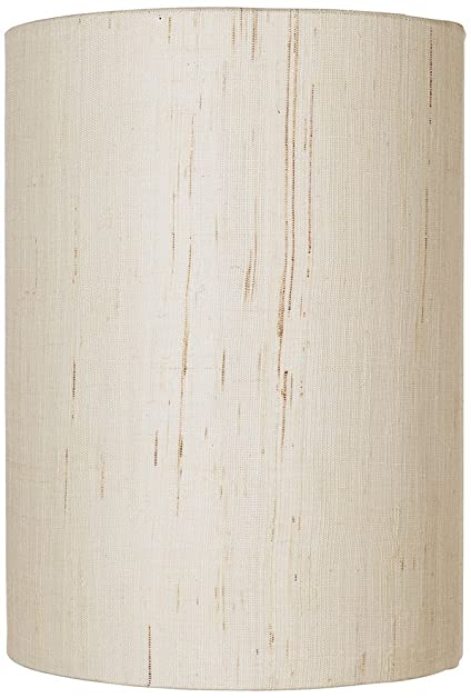 Ivory linen drum cylinder shade 8x8x11 spider lampshades ivory linen drum cylinder shade 8x8x11 spider mozeypictures Image collections