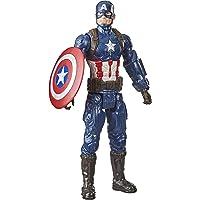 Boneco Marvel Avengers Titan Hero, Figura de 30 cm Vingadores - Capitão América - F1342 - Hasbro