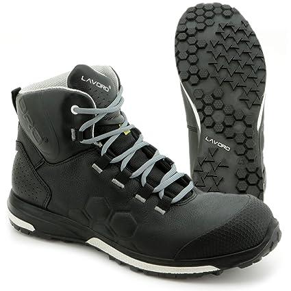 Trabajo de zapatos de seguridad Botas lavoro Kenobi | SRC HRO S3 ESD Negro Hombre de