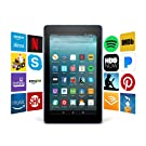 """Fire 7 Tablet with Alexa, 7"""" Display, 16 GB, Marine Blue - with Special Offers"""