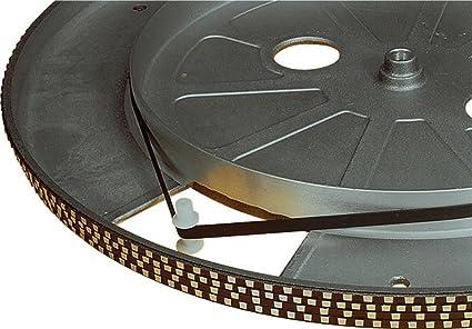 Correa de transmisión 210mm de repuesto para tocadiscos