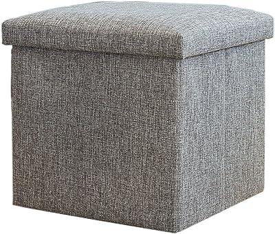 Amazon Com Sauder Soft Modern Upholstered Storage Ottoman
