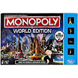 Monopoly Here and Now World Edition Game, Multi Color