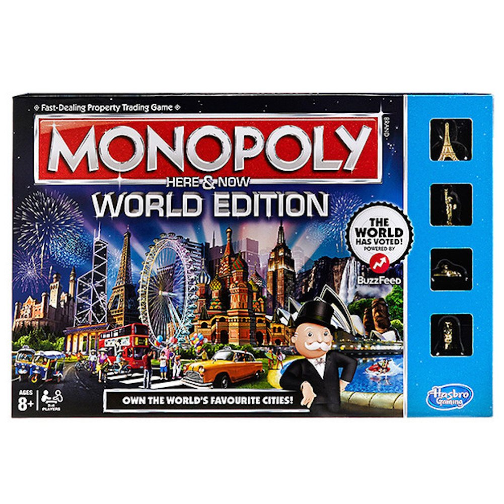 【SALE】 Monopoly Here Here & Now Game B00THAGEL8 Now B00THAGEL8, アースワードpc-shop:59a84494 --- arianechie.dominiotemporario.com