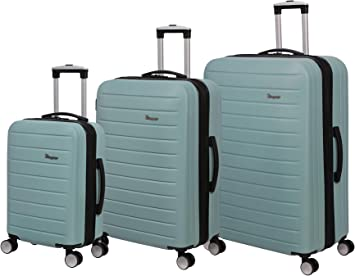 it luggage Legion Hardside Expandable, Blue Wash, 3 Piece Set