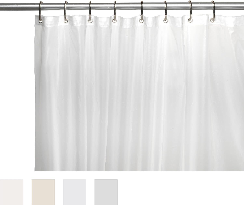 Amazon.com: Carnation Home Fashions 10-Gauge PEVA 72 by 84-Inch ...
