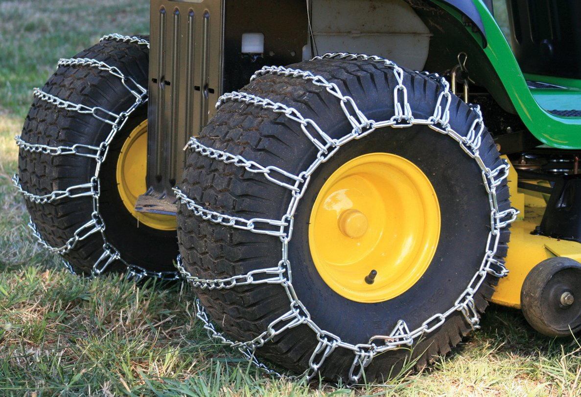 Security Chain Company 1063456 Max Trac Snow Blower Garden Tractor Tire Chain by Security Chain (Image #4)