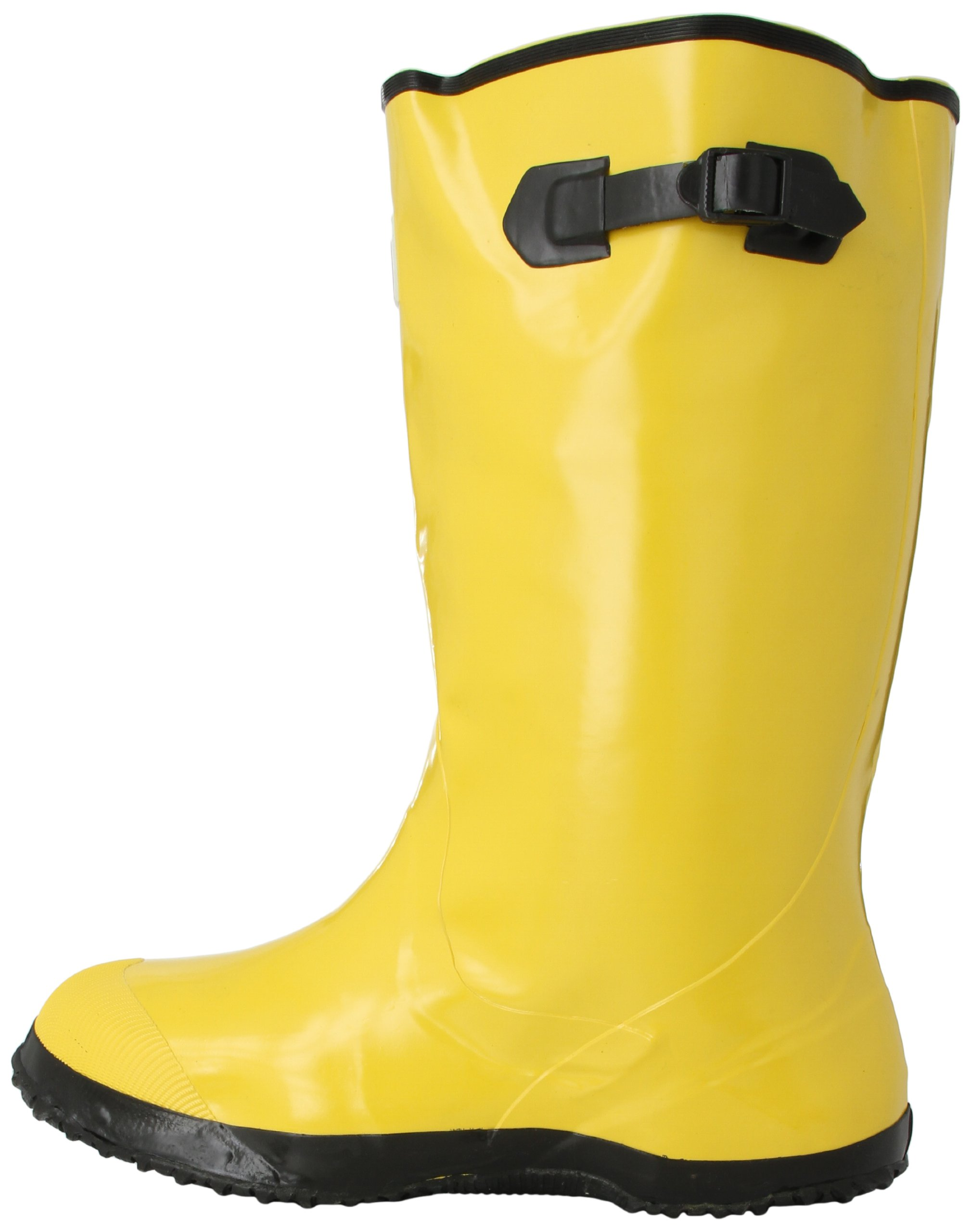 Mutual 14500 Extra Wide Over-The-Shoe Work Slush Boot, 17'' Height, Size 14, Yellow by Mutual Industries (Image #5)