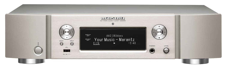 marantz ネットワークオーディオプレーヤー HEOS/ハイレゾ/Airplay2対応 シルバーゴールド NA6006/FN B07FXWBPJN