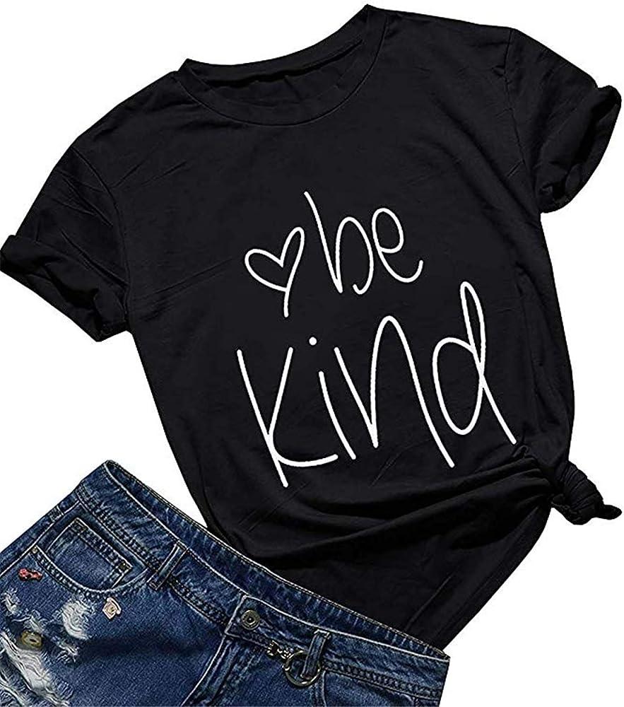 Summer Short Sleeve Inspirational Graphic S Shirts