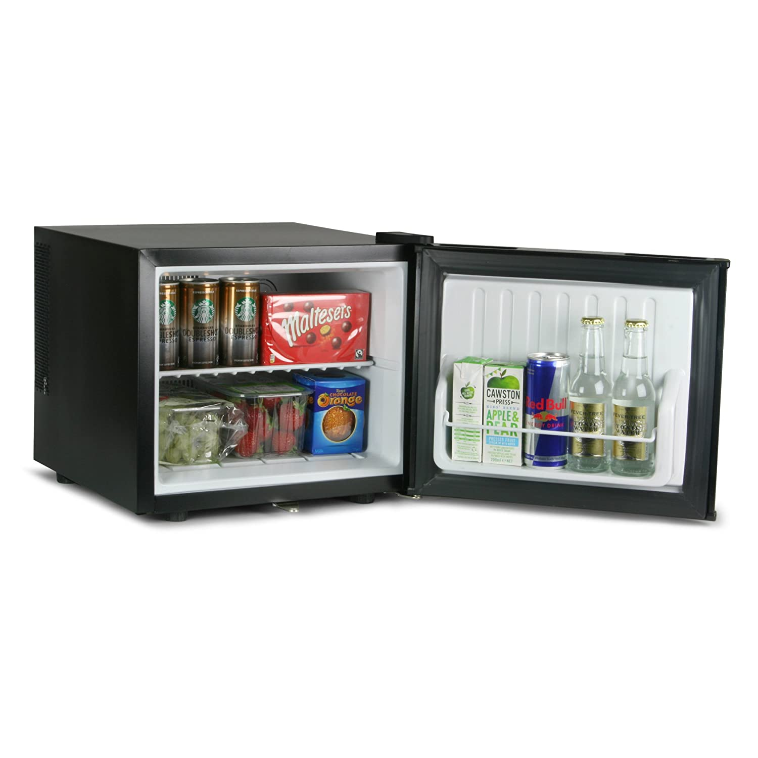 Drinkstuff 17ltr ChillQuiet Mini Fridge - Black [Energy Class B] bar@drinkstuff