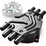 Bravex Ignition Distributor Cap & Rotor Kit Fits D328A 10452458 DR475 Olds Chevy GMC Pickup Truck SUV Van 4.3L V6