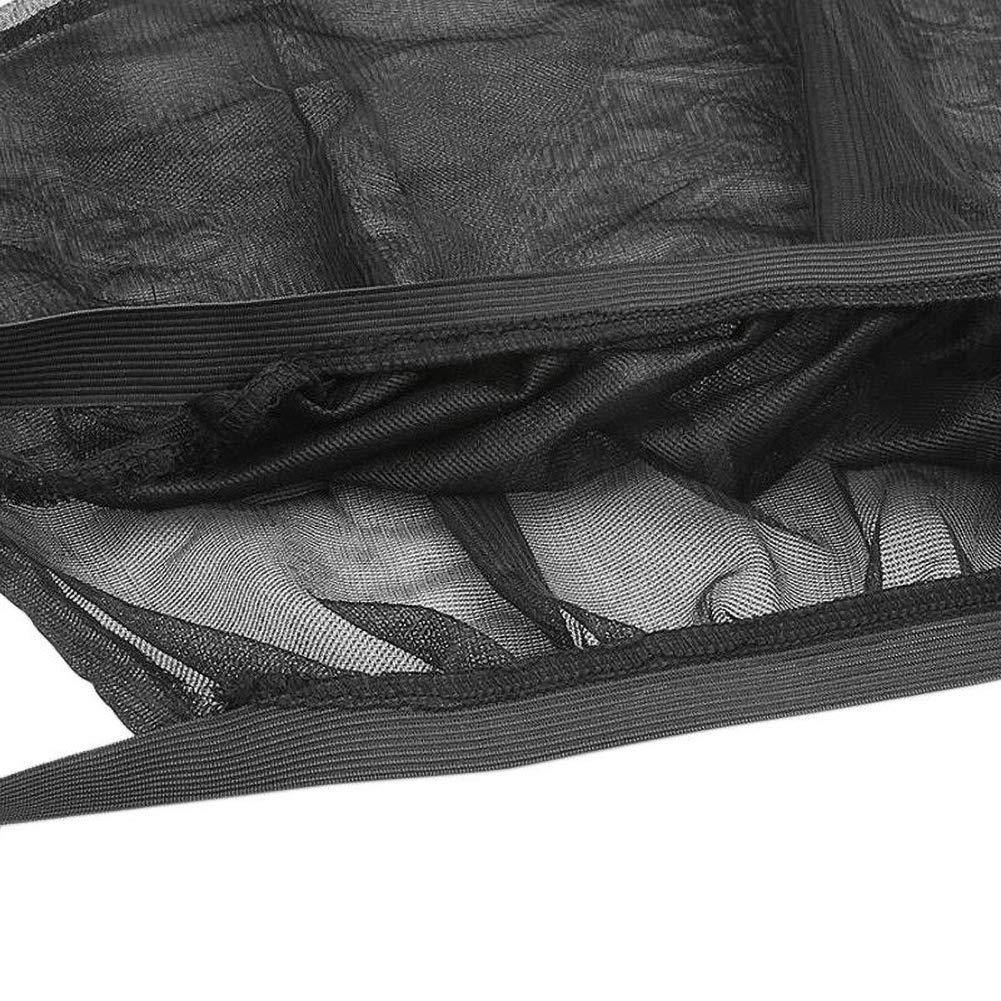 Lin XH 4pcs Premium Qualit/é Stores de fen/être de Voiture Avant et arri/ère fen/être lat/érale Pare-Soleil Pare-Soleil Net Cover