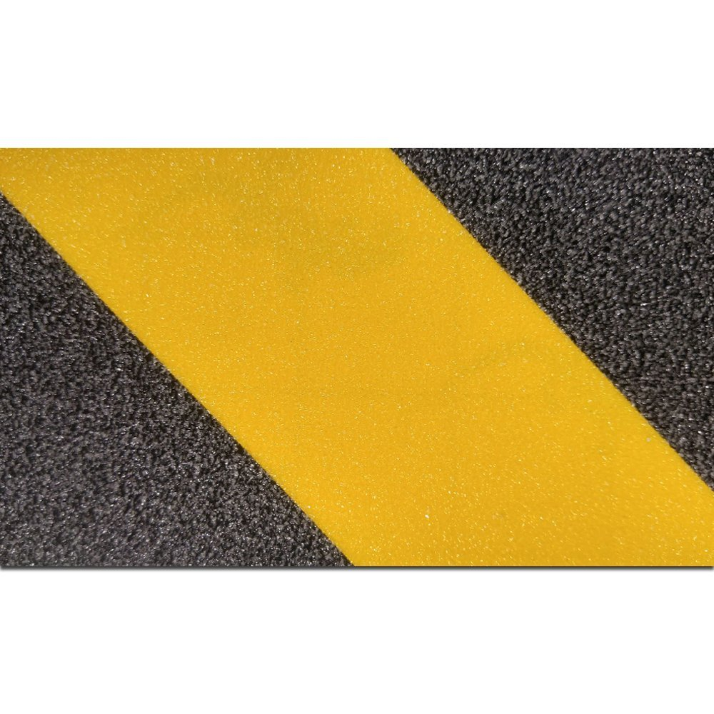Gator Grip : SG3904YB Premium Grade High Traction Non Slip 60 Grit Indoor Outdoor Colored Anti-Slip Tape, 4 Inch x 60 Foot, Yellow/Black