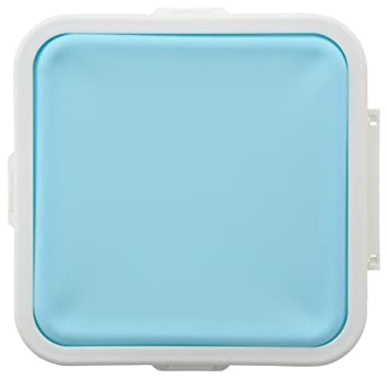 マーナ ぴたっとランチケース ライトブルー K689LB