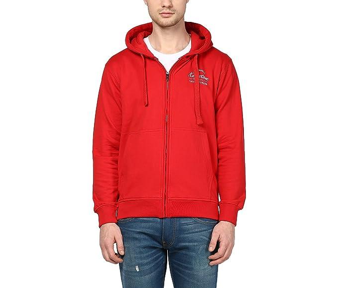 18fec1e486fa Griffel Full Sleeve Printed Men's Sweatshirt: Amazon.in: Clothing ...