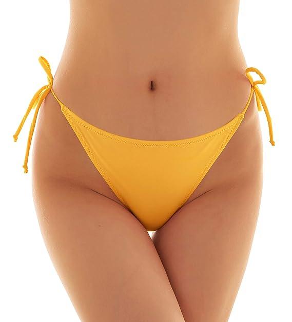 fb1048e501d6 SHEKINI Mujer Tanga Brasileños Bikini Braga Braguitas con Lazos Laterales  Ajustables Ropa Interior