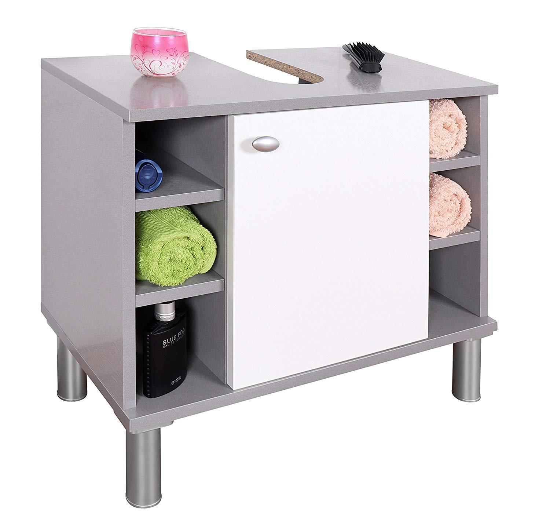 Schön Badschrank Klein Dekoration Von Ricoo Waschbeckenunterschrank 60 Cm Breit Unterschrank Badezimmer