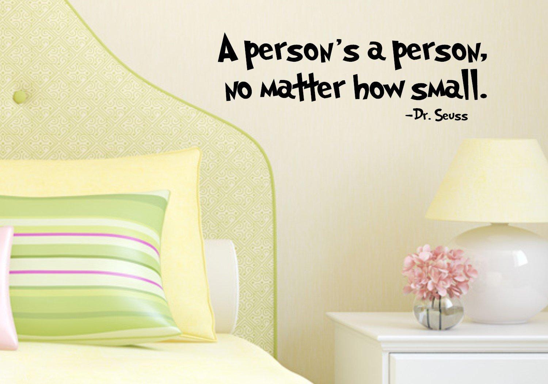 Amazon.com: Dr Seuss Quotes - Horton Hears A Who - A Fan Of Dr Seuss ...