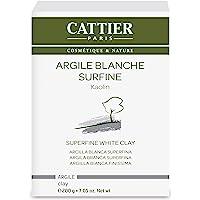 Cattier Vrac Argile Blanche Surfine 200 g Lot de 2