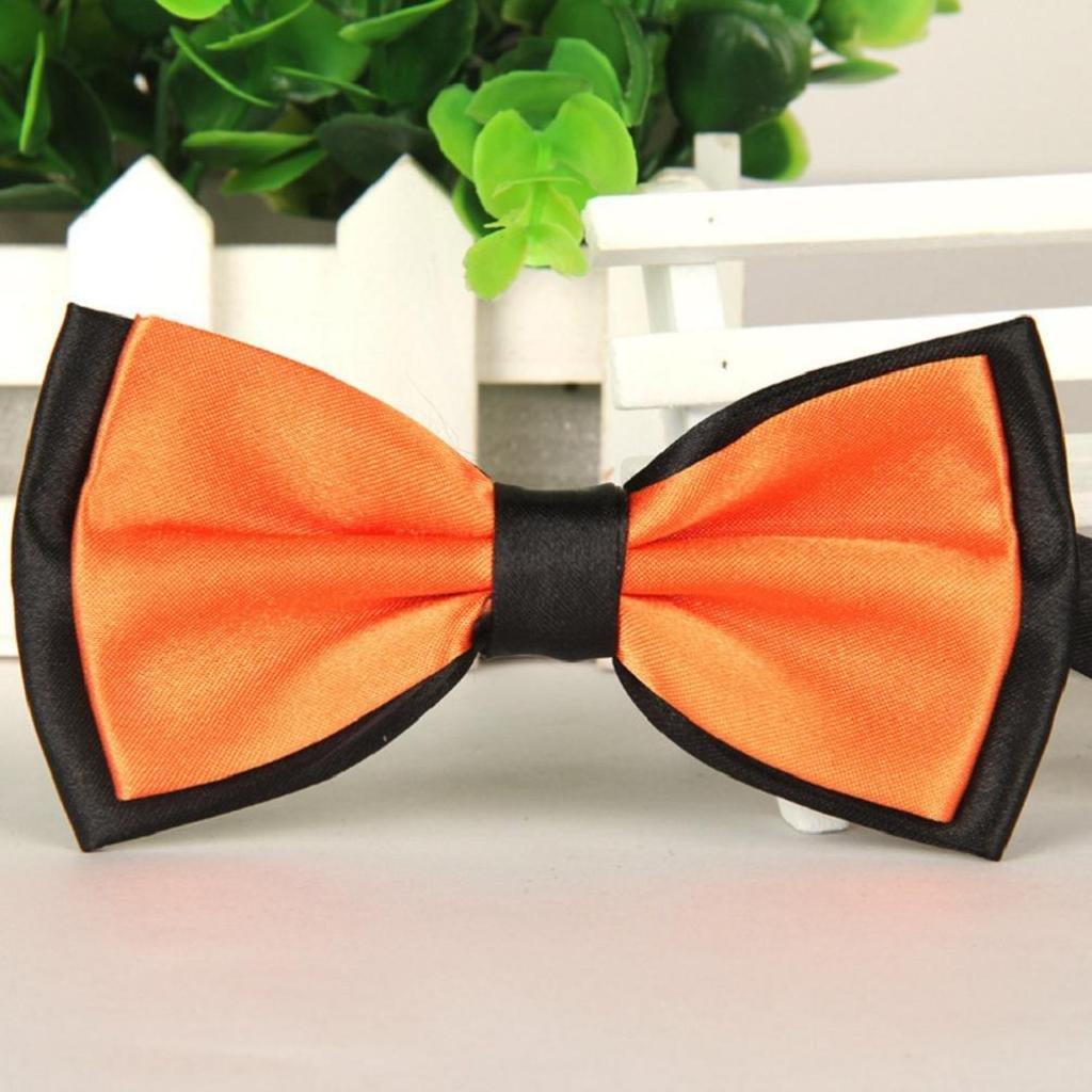 Vovotrade/® Hombres Satin Bow Tie corbata esmoquin de boda pajarita ajustable