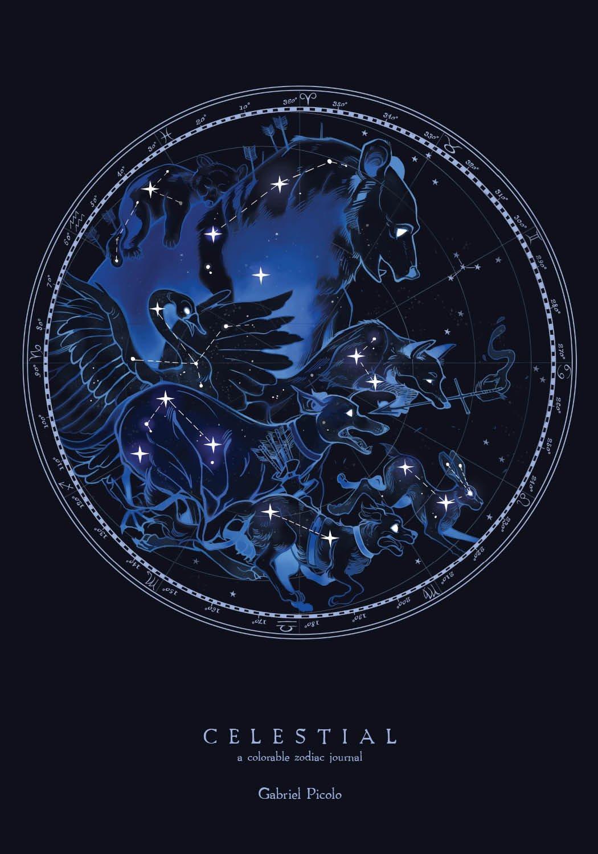 Celestial Colorable Journal Gabriel Picolo product image