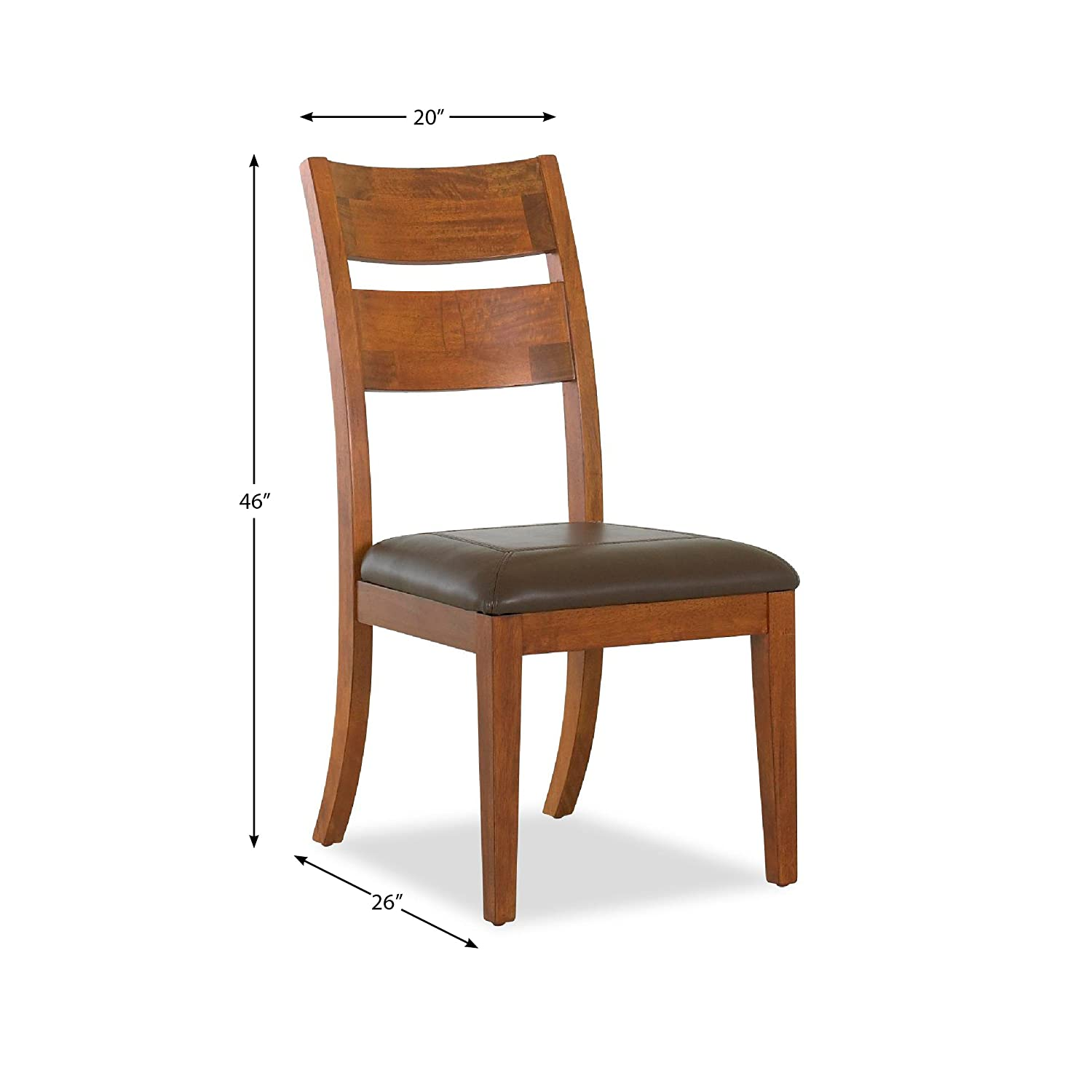 Amazon Klaussner URBAN CRAFTSMEN Dining Room Side Chair Chairs
