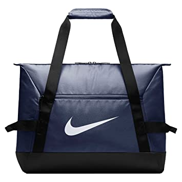 official photos 57491 7440d Nike NK Acdmy Team S Duff Sac à Main Mixte Adulte, Bleu (Midnight Navy