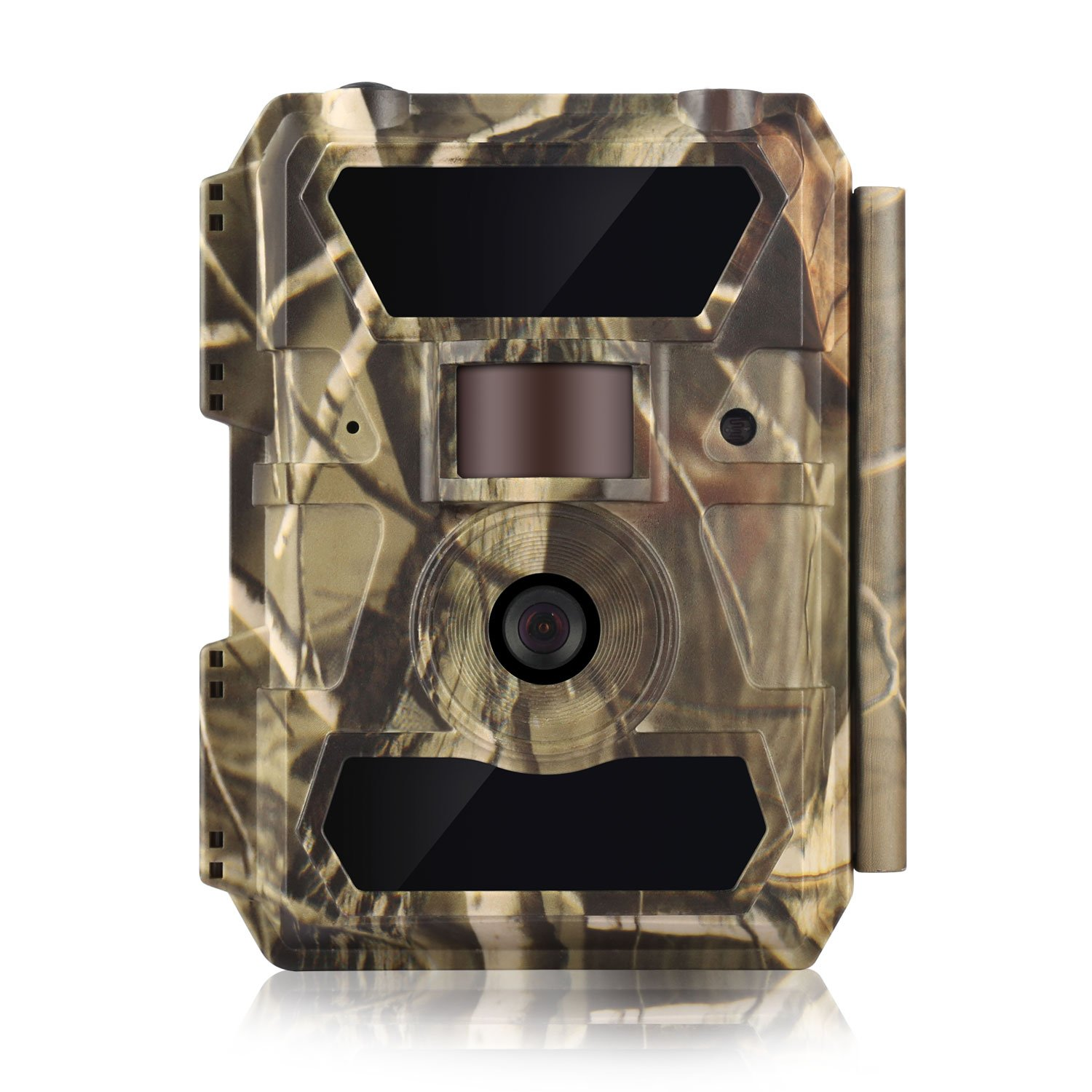 WingHome Trail Camera, 1080P 12M Game Cameras with Night Vision Waterproof HD Video Motion Activated Camera 58PCS Infrared No Flash Hunting Camera for Home Backyard Outdoor Wildlife Photograph