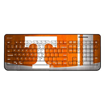 Amazon.com: NCAA Wireless USB Keyboard por keyscaper, Texas ...
