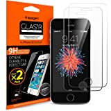 Spigen Tempered Glass iPhone SE Screen Protector [ Case Friendly ] [ 9H Hardness ] for iPhone SE / 5S / 5C / 5